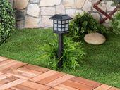 """Lampy ogrodowe solarne 6 sztuk Lunartec """"Asian"""" zdjęcie 4"""