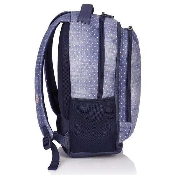 Plecak szkolny młodzieżowy Astra Head HD-07, w groszki zdjęcie 2