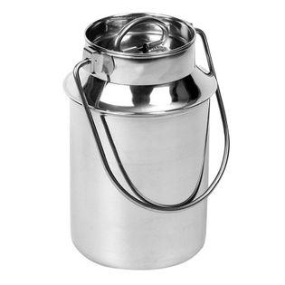 Kanka na mleko do mleka stalowa retro 3,5L