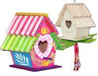 KARMNIK Domek dla Ptaków Drewniany ZRÓB TO SAM