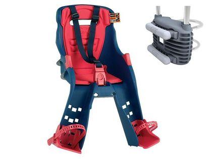 Fotelik dziecięcy OKBABY ORION przedni uniwersalne mocowanie granatowy 37604062