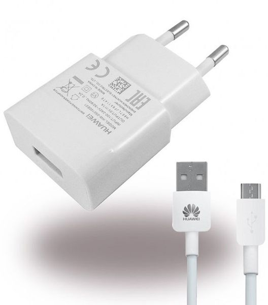 Ładowarka Huawei P8 Lite Y6 Y5 Honor 4 Micro USB HW 050100E01
