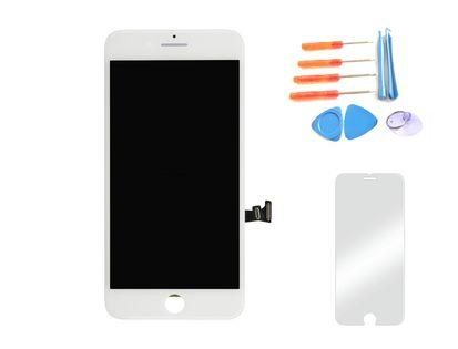 Wyświetlacz iPhone 7 BIAŁY  szkło i narzędzia 