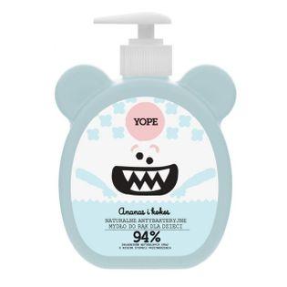 YOPE naturalne mydło dla dzieci ananas i kokos 400ml