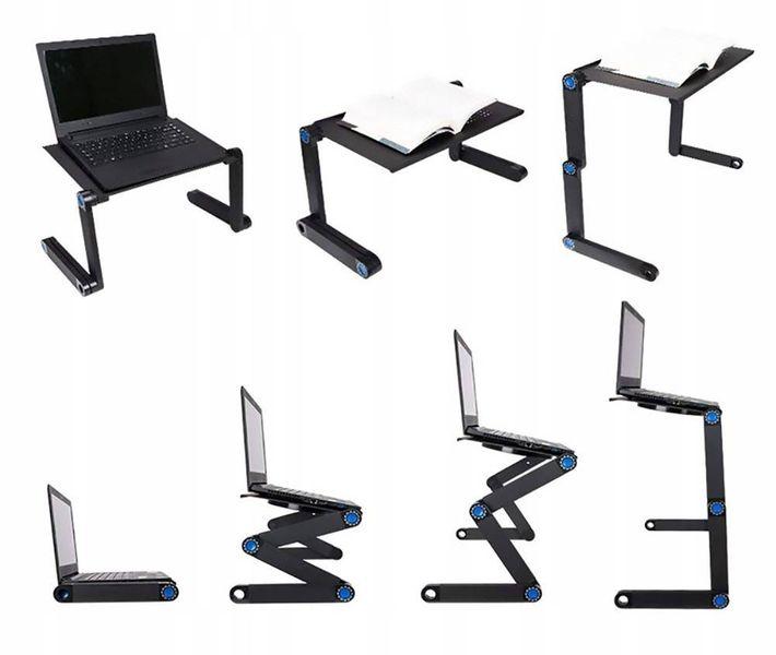 Regulowany Składany Stolik Pod Laptopa Chłodzenie