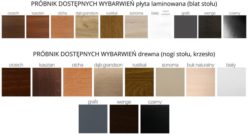 KRZESŁO DREWNIANE Tapicerowane PROMOCJA Produkt Polski zdjęcie 6
