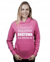 Bluza kangur NAJLEPSZA BRATOWA NA ŚWIECIE L