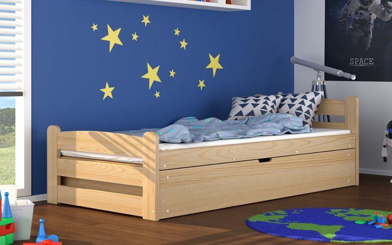 łóżko Podnoszone Dawid 200x90 Materac Sprężynowy