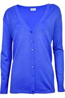 Lady's Collection Niebieski Kardigan