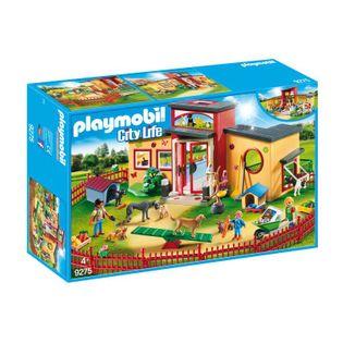 """Playmobil  Hotel dla zwierząt """"Łapka"""" 9275"""