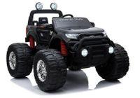 Pojazd Na Akumulator Ford Ranger Monster Czarny Lakierowany Lcd