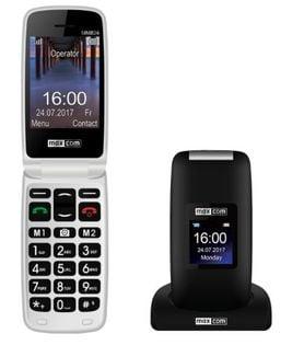 TELEFON KOMÓRKOWY z KLAPKĄ MAXCOM MM824 SENIOR