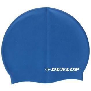 Dunlop - Silikonowy czepek pływacki (Niebieski)