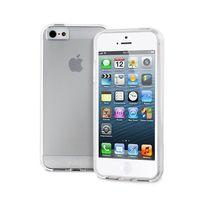 PURO Plasma Cover - Etui iPhone SE / iPhone 5s / iPhone 5 (półprzezroczysty)