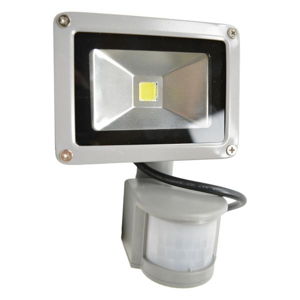 HALOGEN LAMPA NAŚWIETLACZ LED 10W Z CZUJNIK RUCHU zdjęcie 1