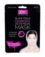 Xpel Body Care Black Tissue Charcoal Detox Facial Mask Maseczka do twarzy 28ml