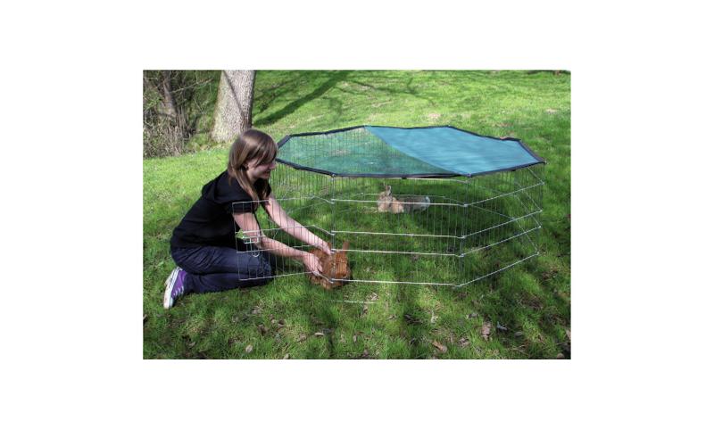 Kojec, wybieg, klatka dla królika, psa 8 el+OSŁONA zdjęcie 4
