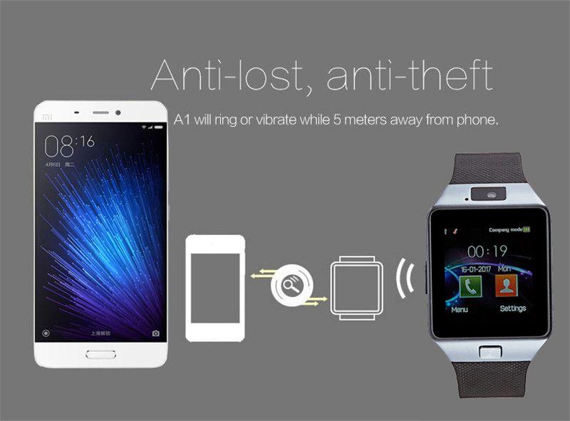 Smartwatch Zegarek DZ09 Menu PL GSM Slot SIM, SD zdjęcie 5