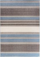 Dywan Carpetforyou Blue Stripes 120x170