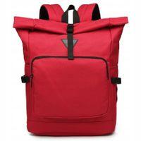 Plecak męski vintage kurierski czerwony na laptopa Cargo BN2