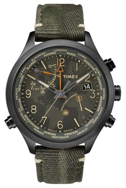 Zegarek Timex TW2R43400 IQ Traveller Series World Time