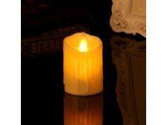 Świeczka Led Ruchomy Płomień + Migotanie