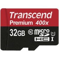 Transcend Memory microSDHC - Karta pamięci 32 GB Class 10 UHS-I U1 60/25 MB/s