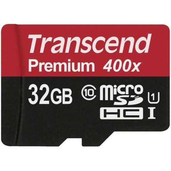 Transcend Memory microSDHC - Karta pamięci 32 GB Class 10 UHS-I U1 60/25 MB/s na Arena.pl