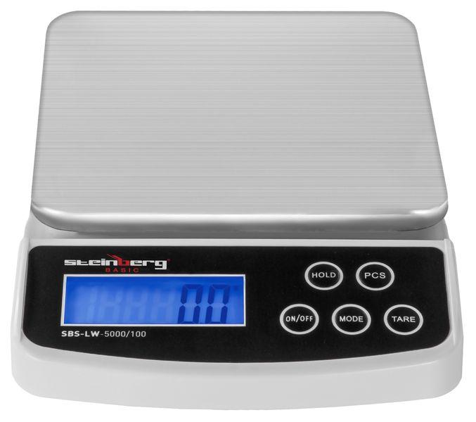 Waga pocztowa - 5 kg / 0,1 g - Steinberg Basic SBS-LW-5000/100 zdjęcie 2