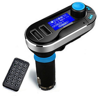 TRANSMITER FM PEIYING 2x USB BLUETOOTH MP3 LCD SD