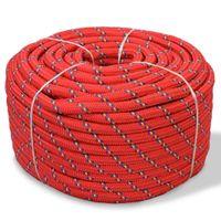 Linka żeglarska z polipropylenu, 6 mm, 500 m, czerwona GXP-683114