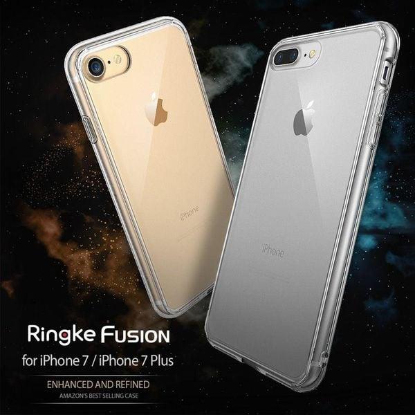 Etui Ringke Fusion iPhone 7 Plus / 8 Plus czarne zdjęcie 5
