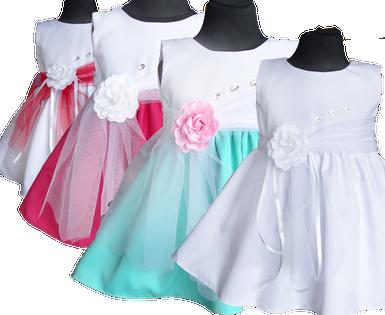 Sukienka wizytowa GIRL chrzest Producent  56