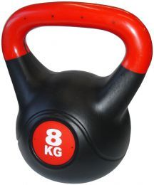Profesjonalna hantla kula Kettlebell 8 kg na Arena.pl
