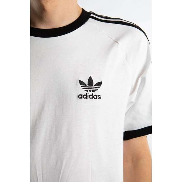 adidas 3 STRIPES TEE 203 WHITE XL zdjęcie 4