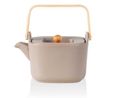 Dzbanek zaparzacz 1l do herbaty ziół husla hygge