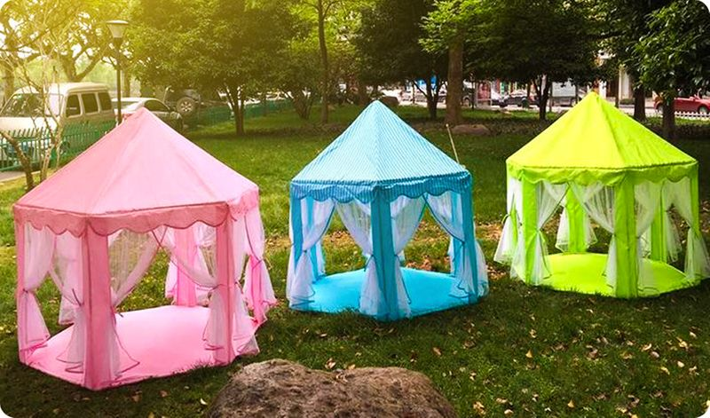 Nie Używać Namiot Pałac Dla Dzieci Do Domu Lub Ogrodu Y137