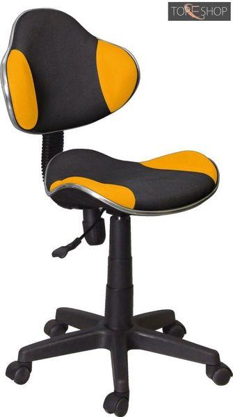 Fotel obrotowy qzy-g2b pomarańczowy zdjęcie 1