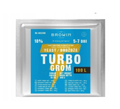 DROŻDŻE TURBO 100L - 340G