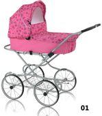 Wózek lalkowy w stylu Retro