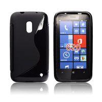 MOCNE etui S-LINE DELUX_ Nokia Lumia 620 _KRAK_ FV