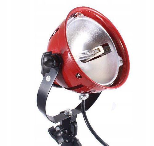 LAMPA ŚWIATŁA STAŁEGO SPOT LIGHT RED HEAD 800W DIM na Arena.pl