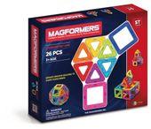 KLOCKI MAGNETYCZNE BASIC 26el MAGFORMERS