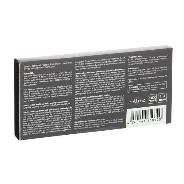 Tabletki czyszczące do ekspresu Seltino Clean 10szt zdjęcie 4