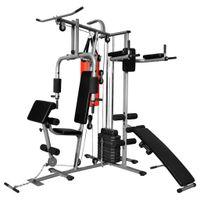 Lumarko Wielozadaniowa domowa siłownia z workiem treningowym, 65 kg