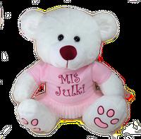 Miś z imieniem prezent dla dziecka na Urodziny Roczek Chrzest