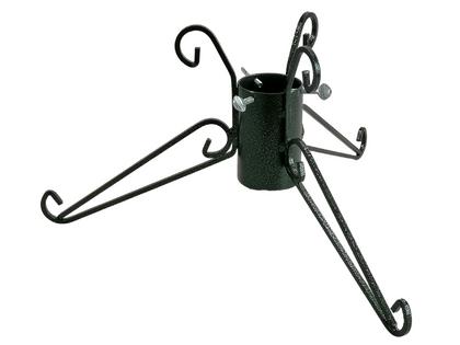 TUCHMET Stojak pod choinkę stały 3-nożny  IRYS fi 90 z pojemnikiem na wodę - zielony antyczny