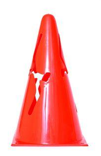 Pachołek 23 cm VCM-9ACS1 czerwony