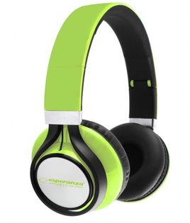 EH159G Słuchawki Audio Freestyle zielone Esperanza