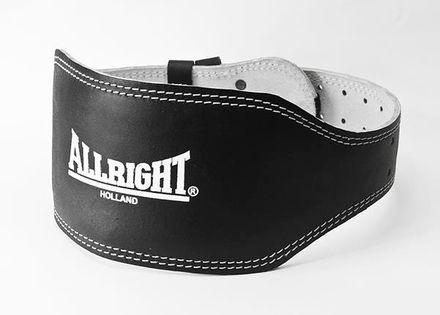 Pas kulturystyczny Allright szeroki 15 cm rozmiar XL czarny